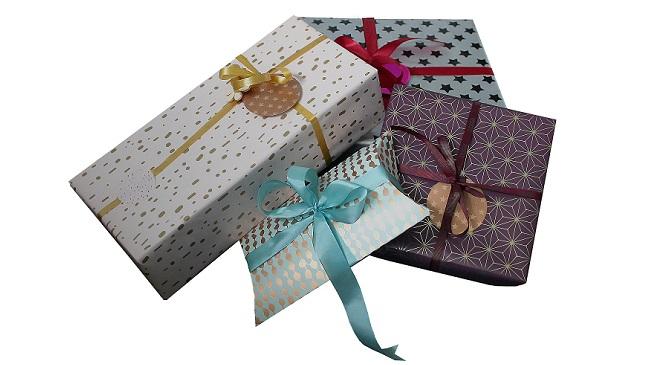 Wie kann man schnell Geschenke verpacken?